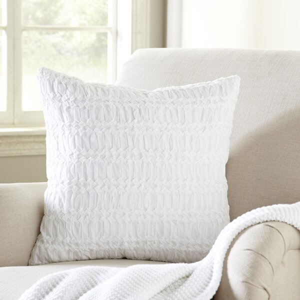 Aleshire 100% Cotton Throw Pillow by Eider & Ivory